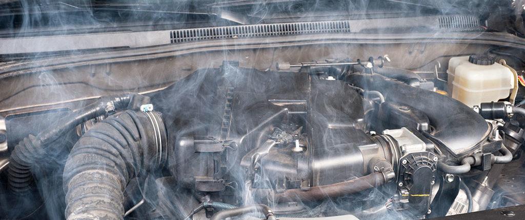 حرارت بیش از حد موتور